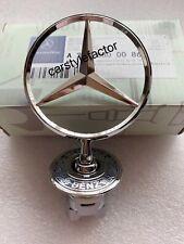 Bonnet Raised Star Emblem Badge w Crest For Mercedes C E S CLK Class A2108800186