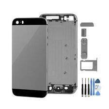 OEM SPACE GRAY Metal Replace  Battery Door Housing Back Cover Case For Iphon 5S