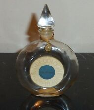 "VINTAGE GUERLAIN vol de nuit PERFUME BOTTLE 4.5"" TALL"
