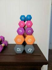 CAP NEOPRENE HEX DUMBBELLS (PAIR) 2LB 3LB 5LB 8LB OR 10 LB - GET IT FAST! WEIGHT