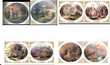 Instant Stencils Lot 4 Multipack (Victorian/Cottages/Light houses) Thomas Kinkade