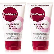 (lot of 2 )Dermend Moisturizing Bruise Formula Cream 4.5oz.