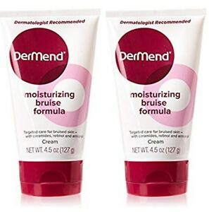 Dermend Moisturizing Bruise Formula Cream 4.5oz each bottle. ( 2 x tubes)