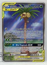 Pokemon Rowlet e Exeggutor di Alola Gx 215/236 Full Art Ultra Rara