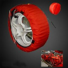 Digital No FREE Car Tire Warmer Set Tyre Cover Color&Size Customized Print Racer