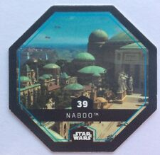 STAR WARS Jeton 39 NABOO Planète Cosmic Shells THE FORCE AWAKENS Collector Image