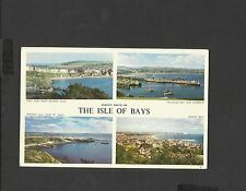 Jarrolds Colour Postcard Happy days in The Isle of Bays Ramsey Bay posted 1960's