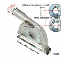 """Clear Cutting Dust Shroud Cover for 4""""/5"""" Hand Angle Grinder 3/4/5"""" saw blades"""