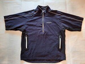 FootJoy DryJoys Tour Collection Half Zip Short Sleeve Rain Jacket Size Large