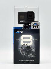 GOPRO Hero 8 Action Cam 4K, Wasserdicht, WLAN, GPS, Schwarz NEU OVP