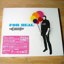 The Heights - For Real JAPAN CD+Video NEW Sealed #23-1