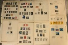 ARGENTINA Stamps on SCOTT ALBUM Pages - 1941 to 1969 - not all years included