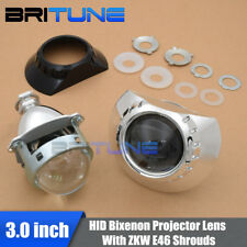 Upgrade 3.0 H1 HID Bi-xenon Projector Lens ZKW Shrouds For BMW E46 Headlight