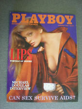 Playboy Magazine February 1986 (Cheri Witter / cover)