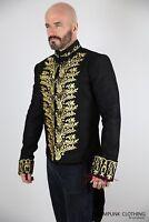 Mens Vintage Evening Formal Coat Tailcoat Elegant Cotton Victorian Style Jacket