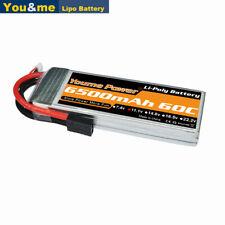 Youme 11.1V 6500mAh 3S LiPo Battery 60C-120C Traxxas for Traxxas RC Car Truck