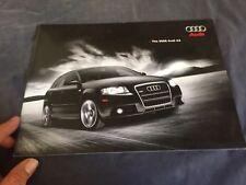 2008 Audi A3 USA Market Color Brochure Catalog Prospekt