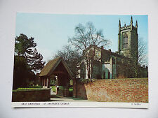 East Grinstead - St. Swithun's Church,East Grinstead, Sussex - Postcard.