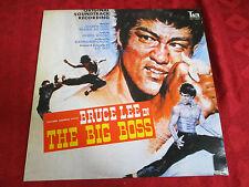 LP OST JOSEPH KOO WANG FU LING Bruce lee in The Big Boss JAPAN