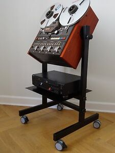 NEW CUSTOMISED Cart Stand for any TASCAM 34B 32B etc Reel to Reel Recorder