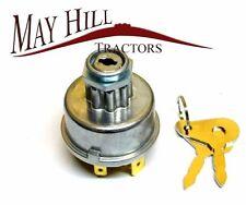 Massey Ferguson,International,Leyland,David Brown Tractor Ignition Switch 2 Keys