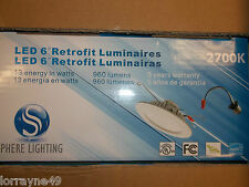"""FOR 6"""" LED 120W REPLACEMENT USING ONLY 13W 120V 2700K 684lm ENERGY STAR"""