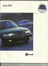 SAAB 900 SE e S SALES BROCHURE 1994