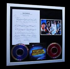 RED HOT CHILI PEPPERS Dani California LTD Nod CD GALLERY QUALITY FRAMED DISPLAY!
