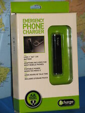 EMERGENCY PHONE CHARGER  I CHARGE ***BRAND NEW & RARE***