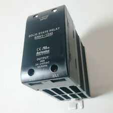 SSR Solid State Relay with Heatsink DIN rail 40A 4-30VDC Input 24-240VAC load
