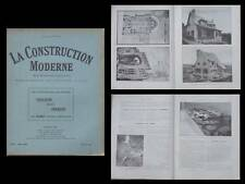 LA CONSTRUCTION MODERNE - n°39 - 1927 - SALON D'ARCHITECTURE, URBANISME COLONIES