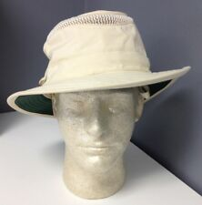 TILLEY ENDURABLES Beige Nylon Adjustable Washable Airflo Tilley Hat Sz OS B4051