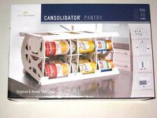 Cansolidator Pantry Rotating Storage for 40 cans, Perfect for organizing NEW!