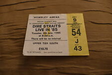 Billet dire straits 1985 UK