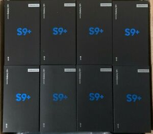 Samsung Galaxy S9 Plus+ 64GB Factory Unlocked Smart Mobile Brand New UK STOCK