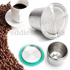 Reusable Steel Coffee Espresso Capsule Pod Brewer Cup Compatible For Nespresso
