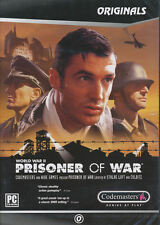 PRISONER OF WAR World War II WW2 Adventure PC Game NEW