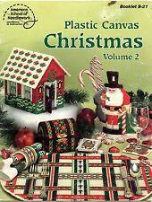 Plastic Canvas Christmas, Volume 2 - Boxes, Ornaments+ ASN Boolet S-21 - 1982
