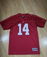 Official Alabama Crimson Tide NCAA Jersey, XL Youth Small/Medium Adult. NFL