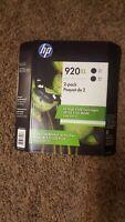 HP Genuine 920XL Black Ink Cartridge Twin-Pack (Brand New Sealed) EXP 05/2021
