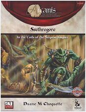Ssethregore Serpent Empire: Arcanis Rpg Fantasy D&D d20 Sourcebook - Softcover