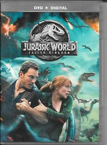 DVD ZONE 2--JURASSIC WORLD FALLEN KINGDOM--PRATT/DALLAS HOWARD/GOLDBLUM