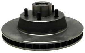 Disc Brake Rotor and Hub Assembly-Non-Coated Front ACDelco 18A1344A