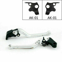 Motorcycle Long Adjustable Brake Clutch Levers For KYMCO 2017-18 AK550 Silve/A5