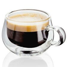 Judge Double Wall Cup Mug Glasses - Espresso - Set of 2 (Pair) - FREE P&P