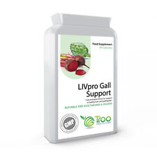 LIVPro Liver Gallbladder Support 60 Capsules - Milk Thistle Alternative Detox