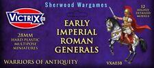 28mm Early Imperial Roman Generals Victrix Hard Plastics, Ancients Hail Caesar
