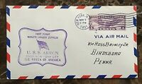 1st FLIGHT of the AIRSHIP ZRS-4 USS AKRON OVER NEW YORK CITY NOV 2,1931 COVER