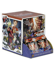 GUERRA civile MARVEL DADI Masters 56 Booster Pack lotto