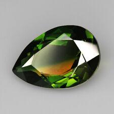 8.3Ct Man Made Bi Color Glass Yellow Green Oval Cut MQYG26